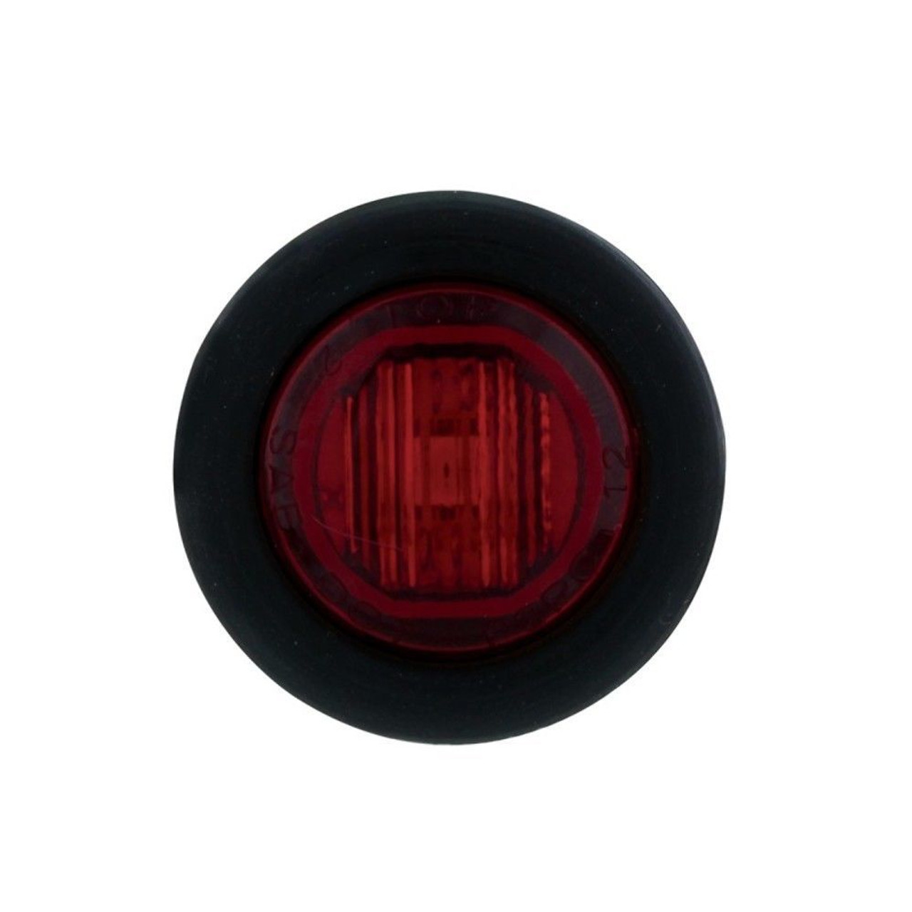 1 SMD LED Mini Clearance/Marker Light - Red LED/Red Lens - Truck Trailer Jeep