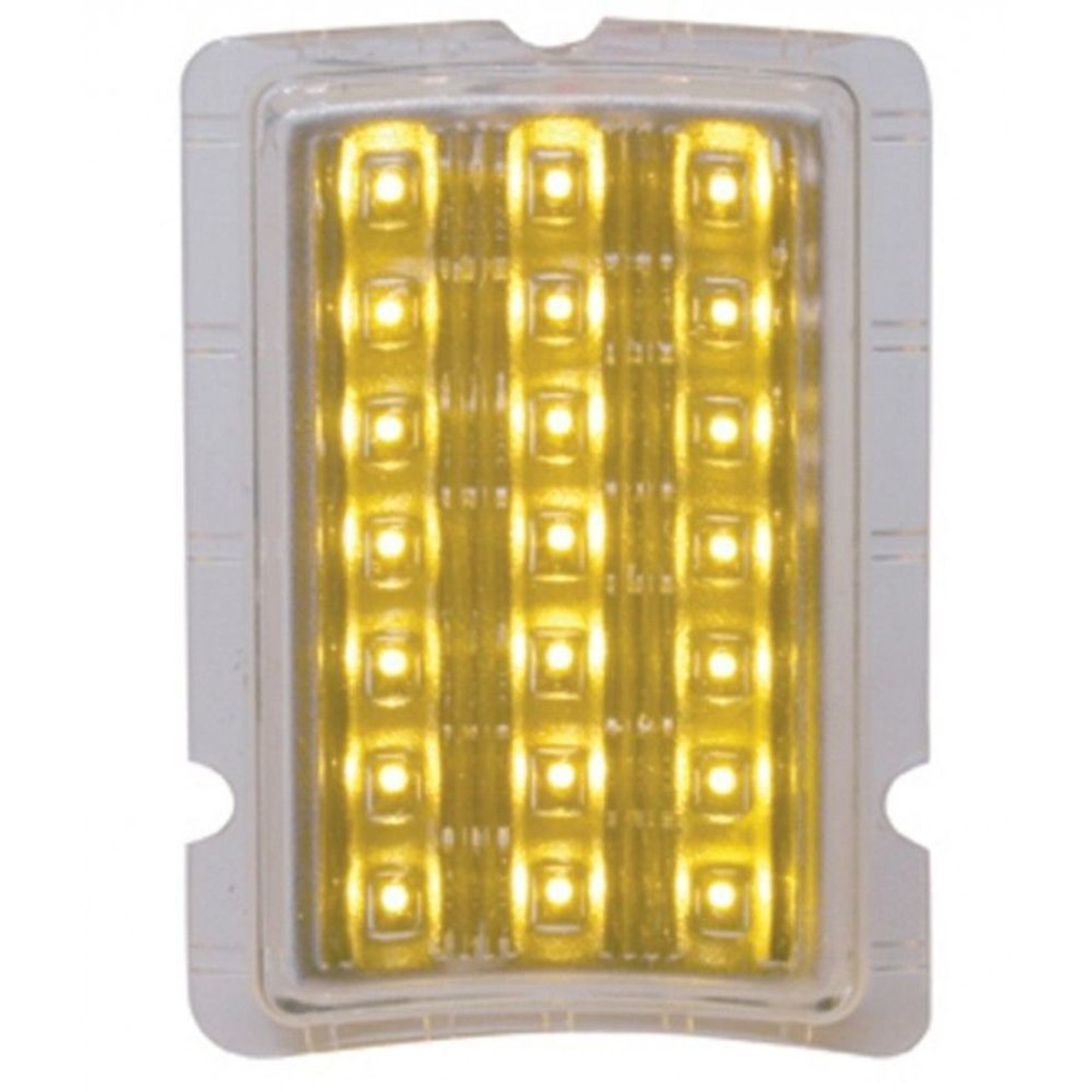 LED Turn Signal & Parking Light, Amber LED, Compatible with Ford 1940 Car, 40-41 Truck