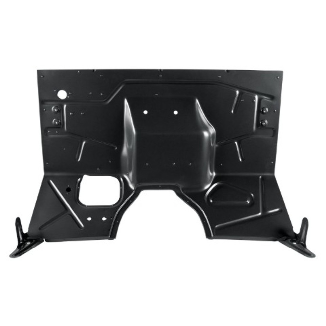 1948-52 Ford Truck Firewall Assembly With Support Brackets