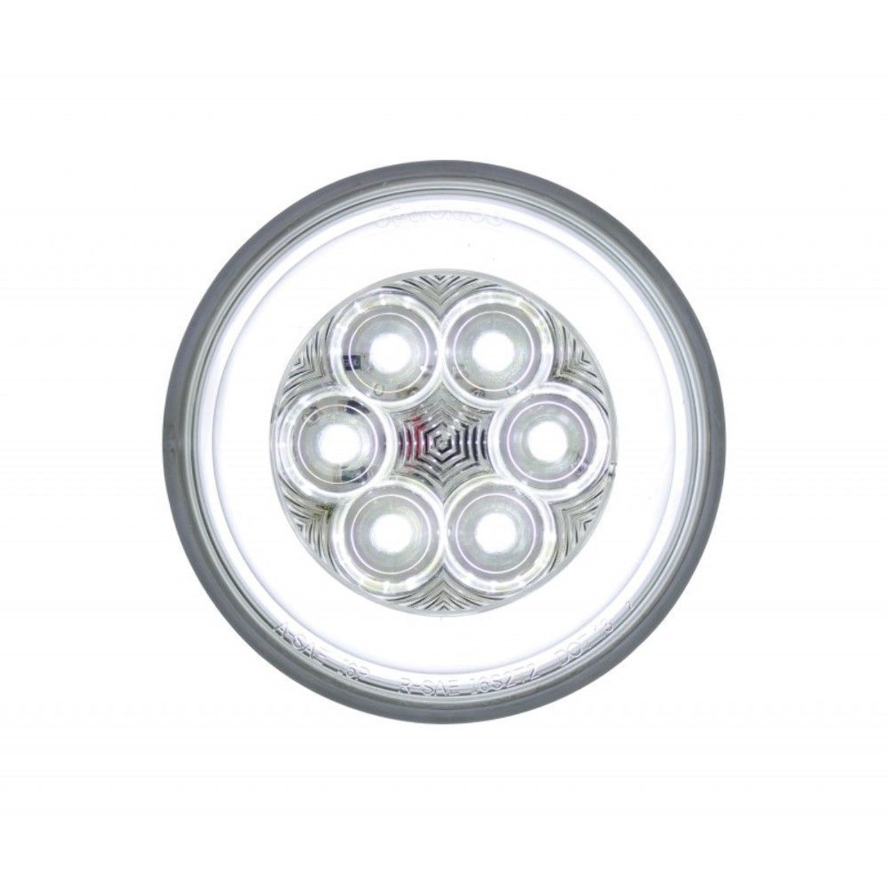 "4"" Back-Up ""GLO"" Light With 21 Super White LEDs"