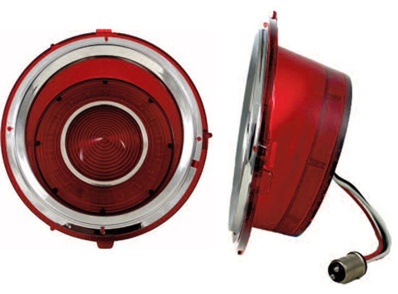 LED Tail Light Set Left & Right, Compatible with Chevrolet Camaro 1970-1973