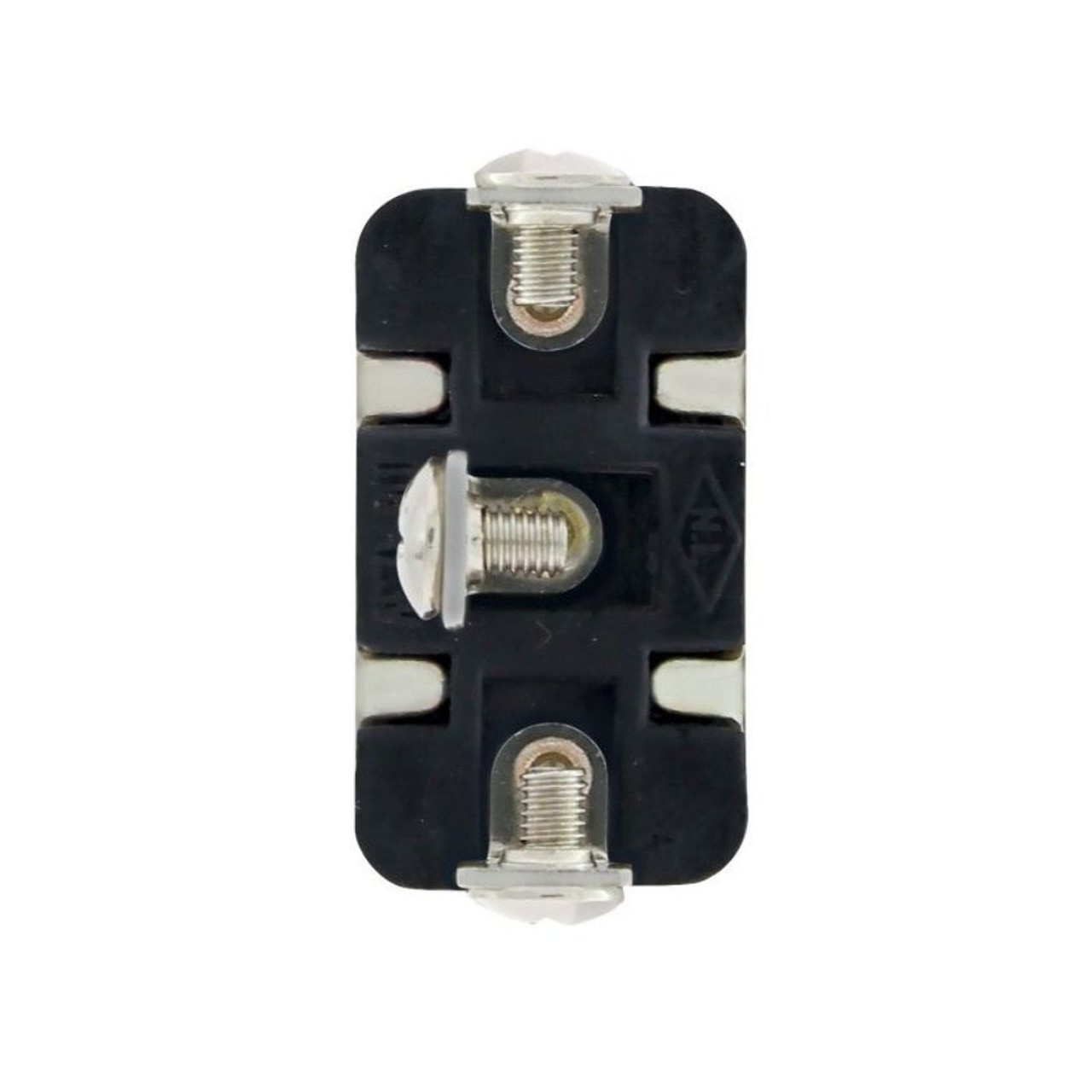 3 Pin, 10 Amp - 12 Volts D.C. On-Off-On Metal Toggle Switch w/ 3 Screw Terminals