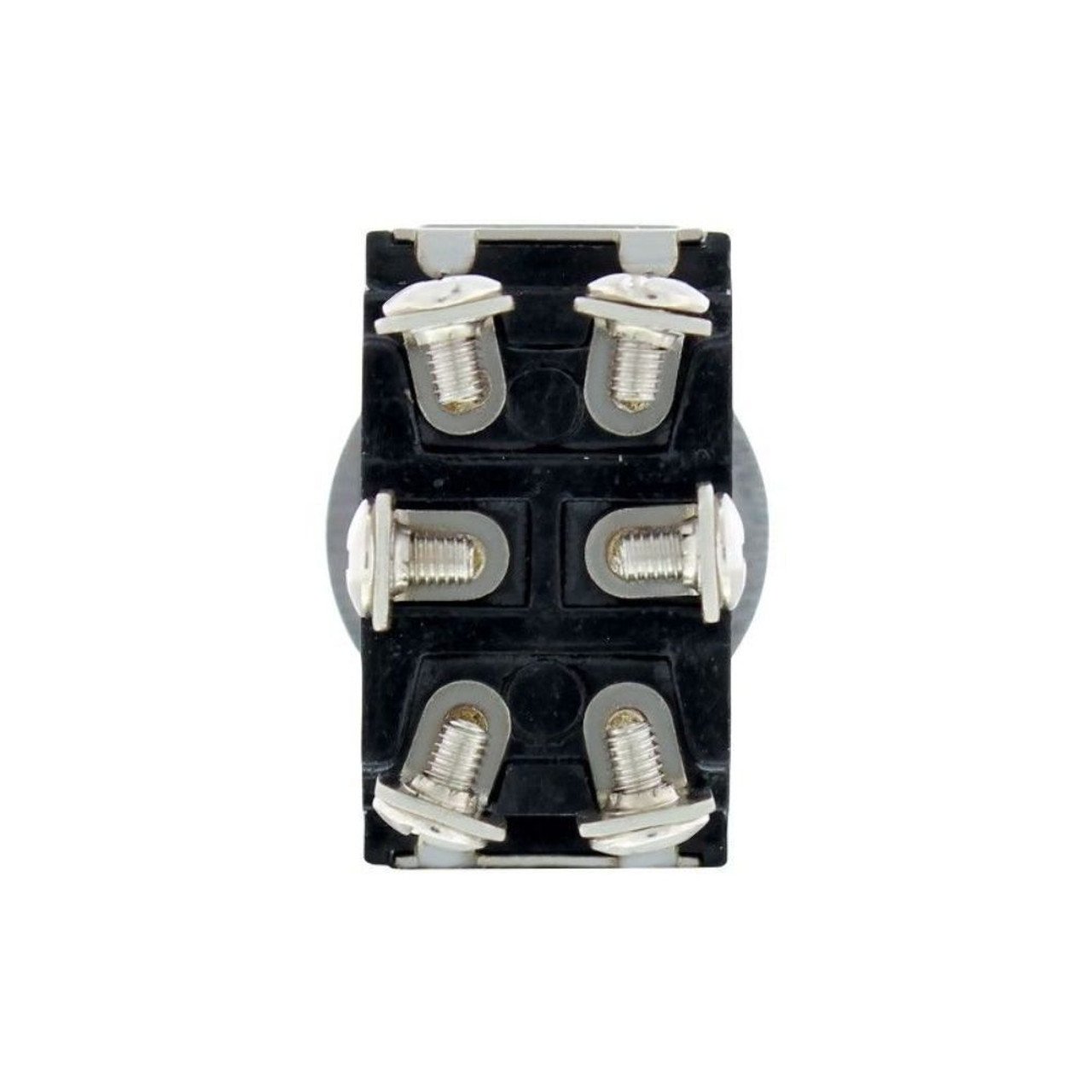 10 Amp - 125 Volts 6 Amp - 250 Vt - On-Off-On Toggle Switch w/ 6 Screw Terminals