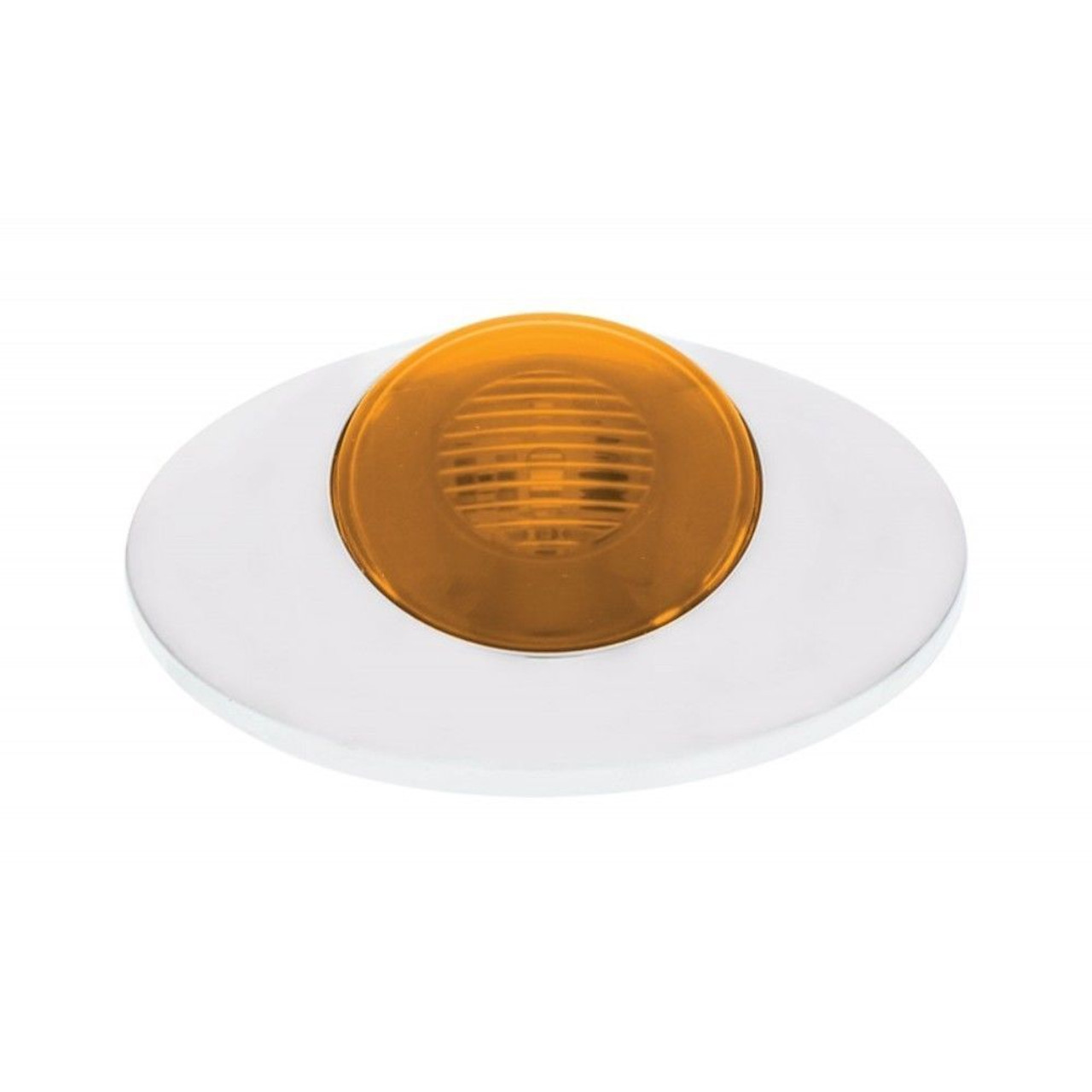 "5 LED ""M3 Millennium"" Clearance/Marker Light - GLO Light - Amber LED w/ Amber Le"