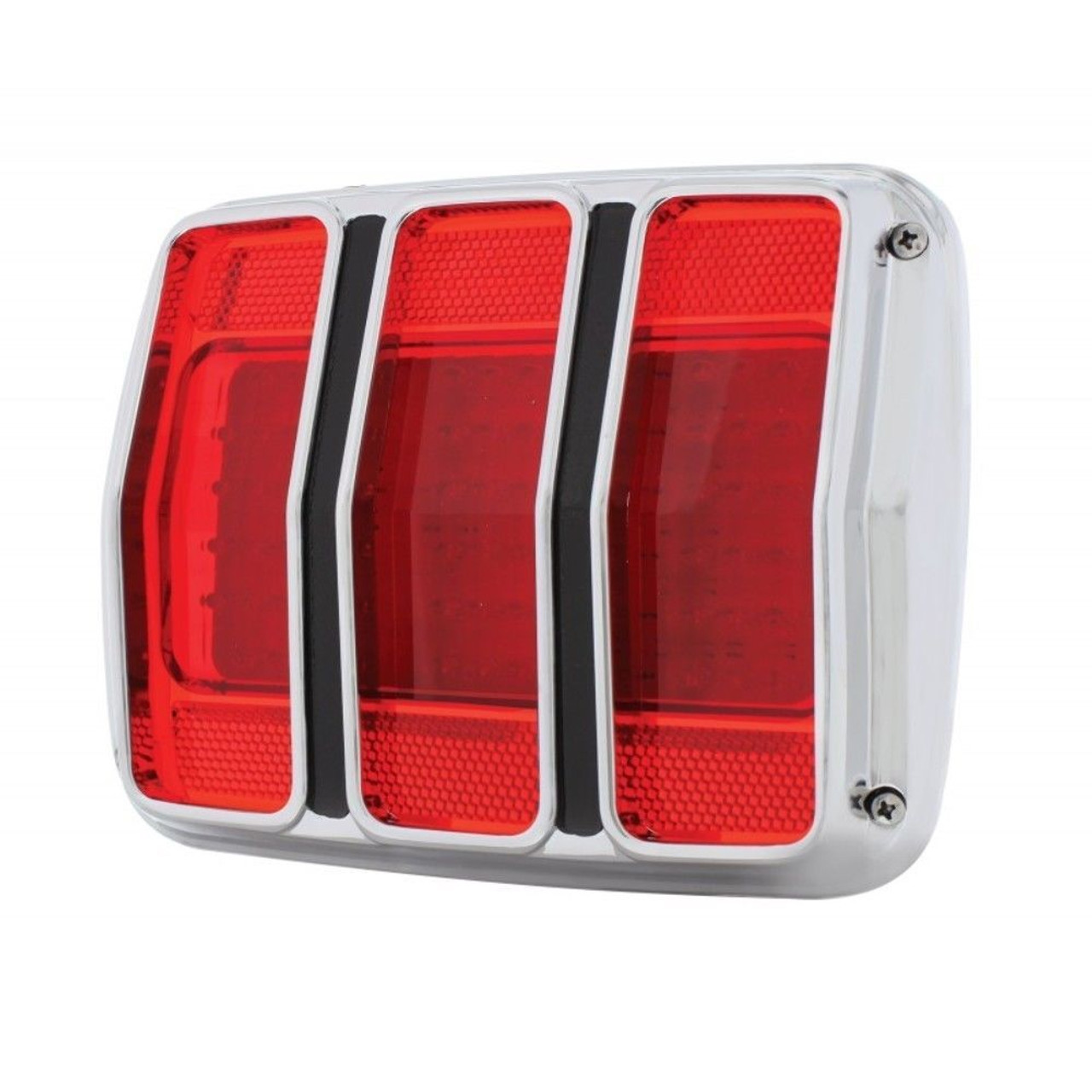 1965 1966 Ford Mustang LED Tail Light Assembly w/ Housing 65 66