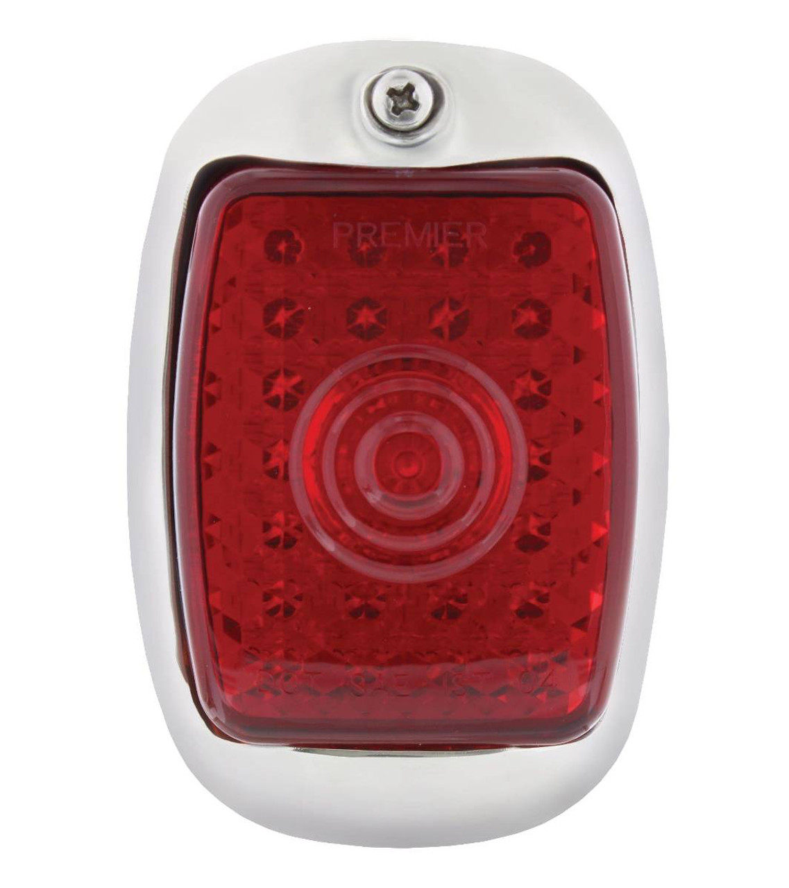 1940 - 53 Chevy Truck LED Tail Light Assembly, Stainless, Left