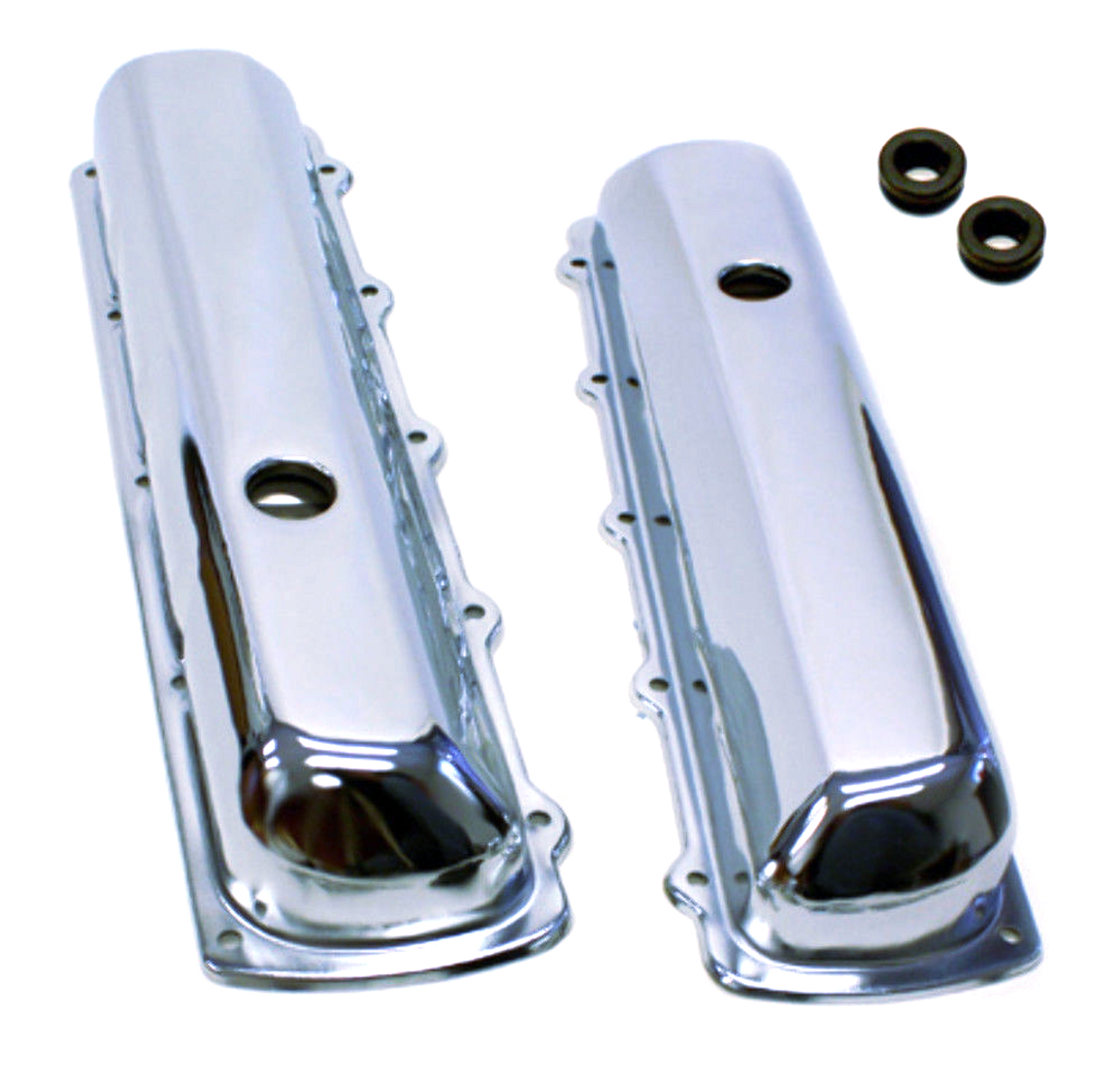 OLDSMOBILE VALVE COVERS OLDS 330-350-400-425-455 TALL
