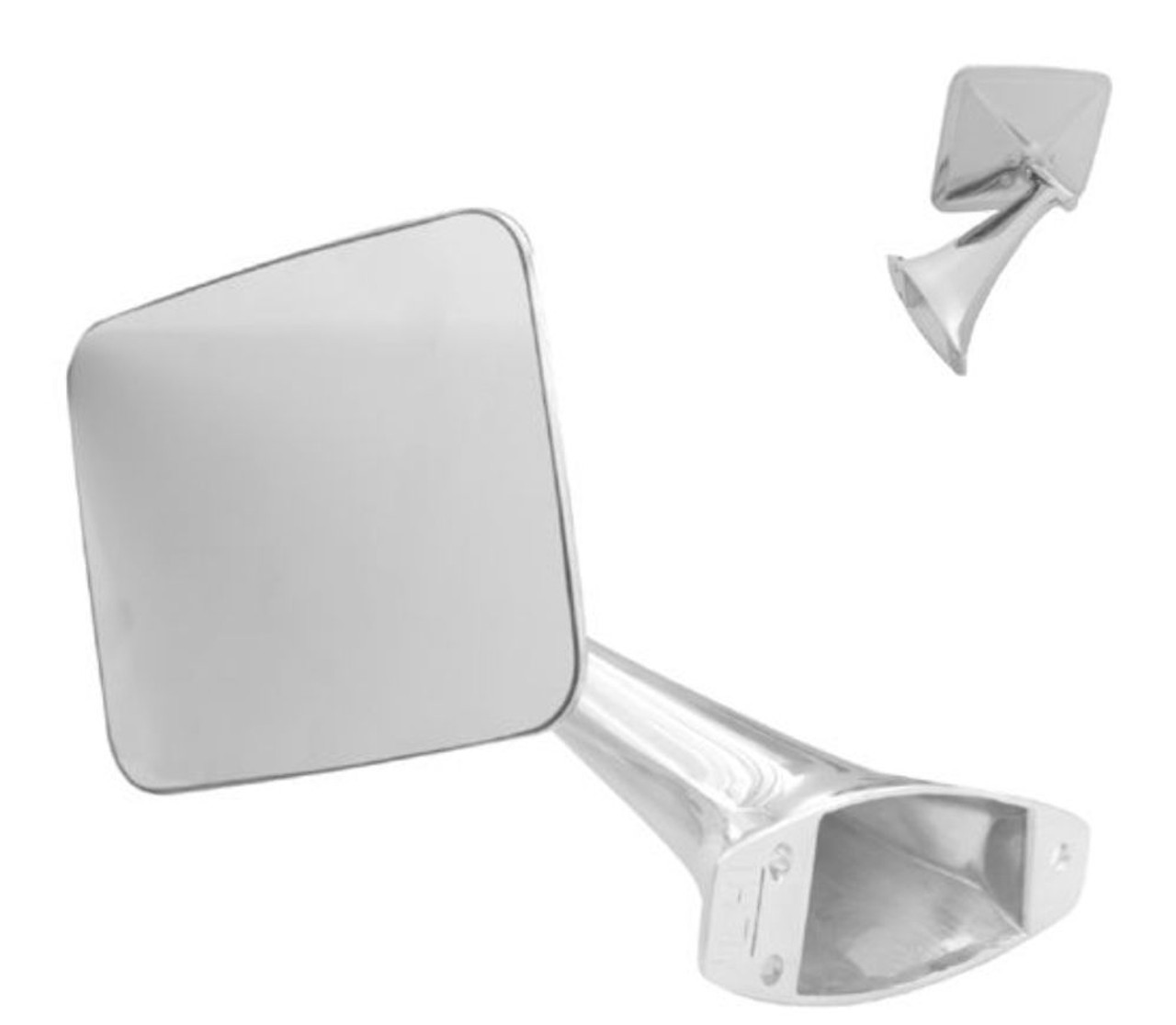 1970-1972 Chevy Truck Exterior Mirror, Left, EA