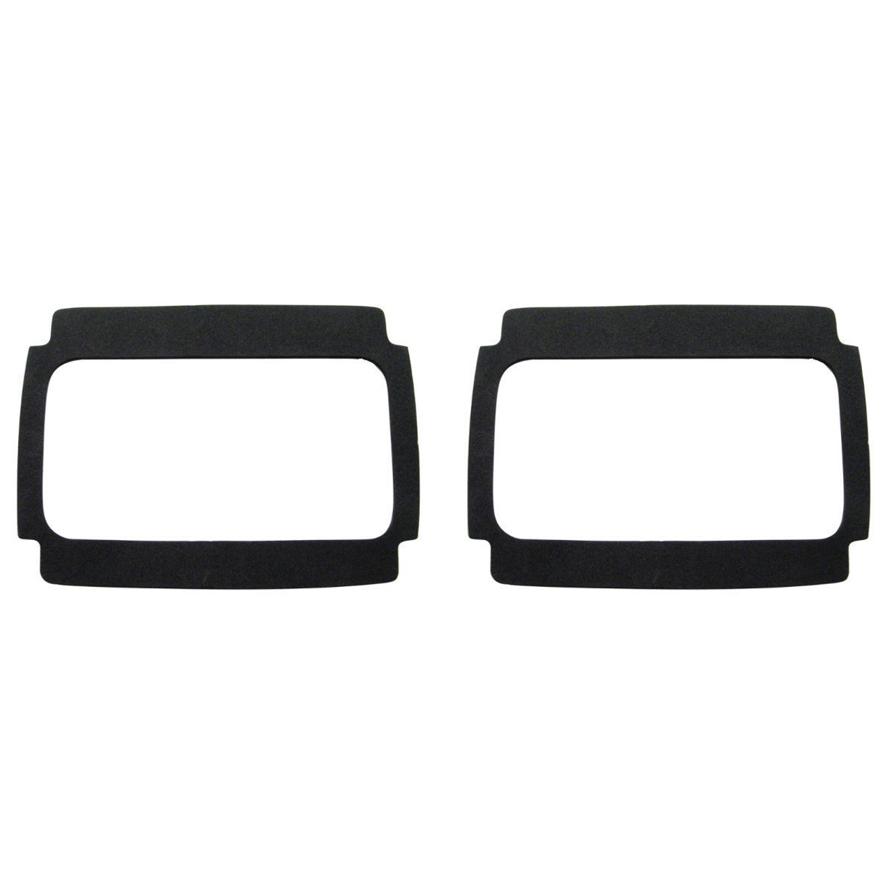Tail Light Lens Gasket - Black Foam - Compatible with Ford Mustang 1964-1966