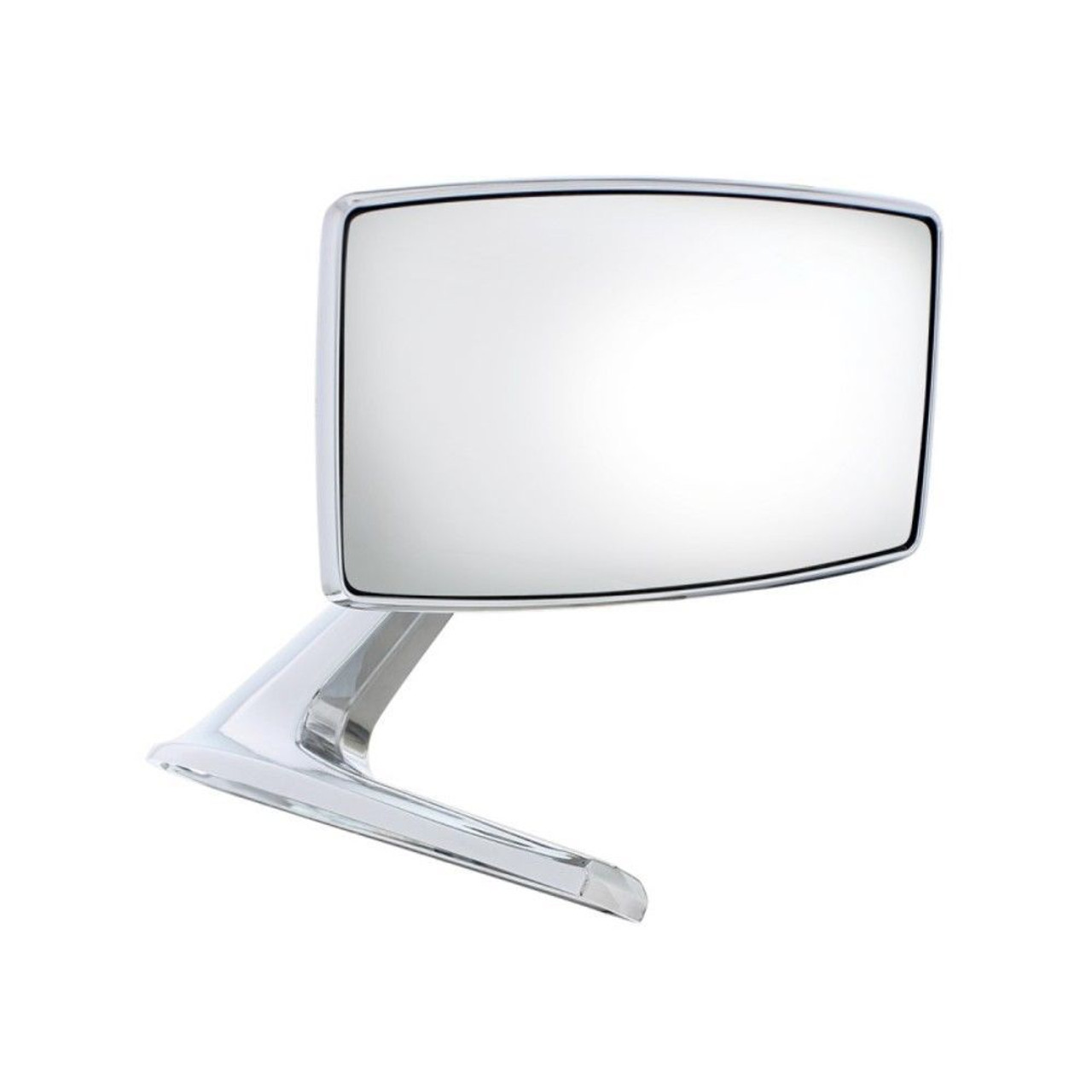 1967-68 Ford Mustang Exterior Mirror With Convex Glass, Right-Hand / Passenger