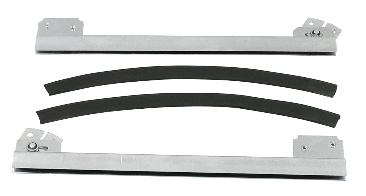 One Piece Window Sashes Kit, Pair, Fit VW Bug Air Cooled, EMPI 9759