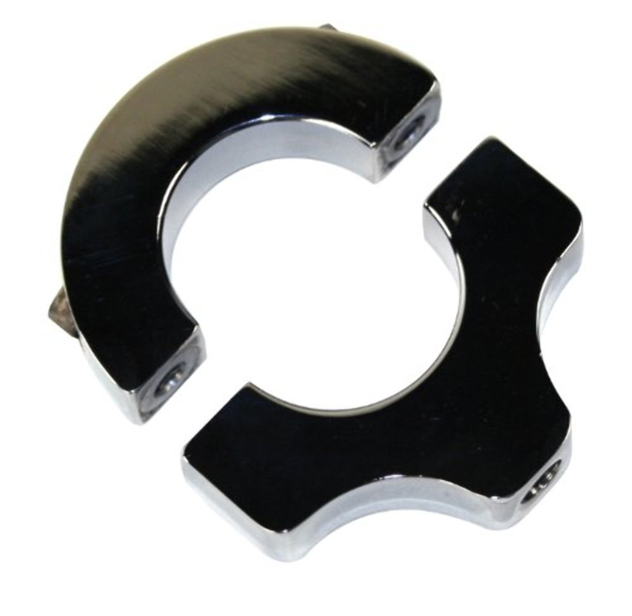 """EMPI Universal Billet Mounting Bracket For 1-1/2"""" Tube With 3/8""""-16 Threads for Roll Cage 17-2730"""