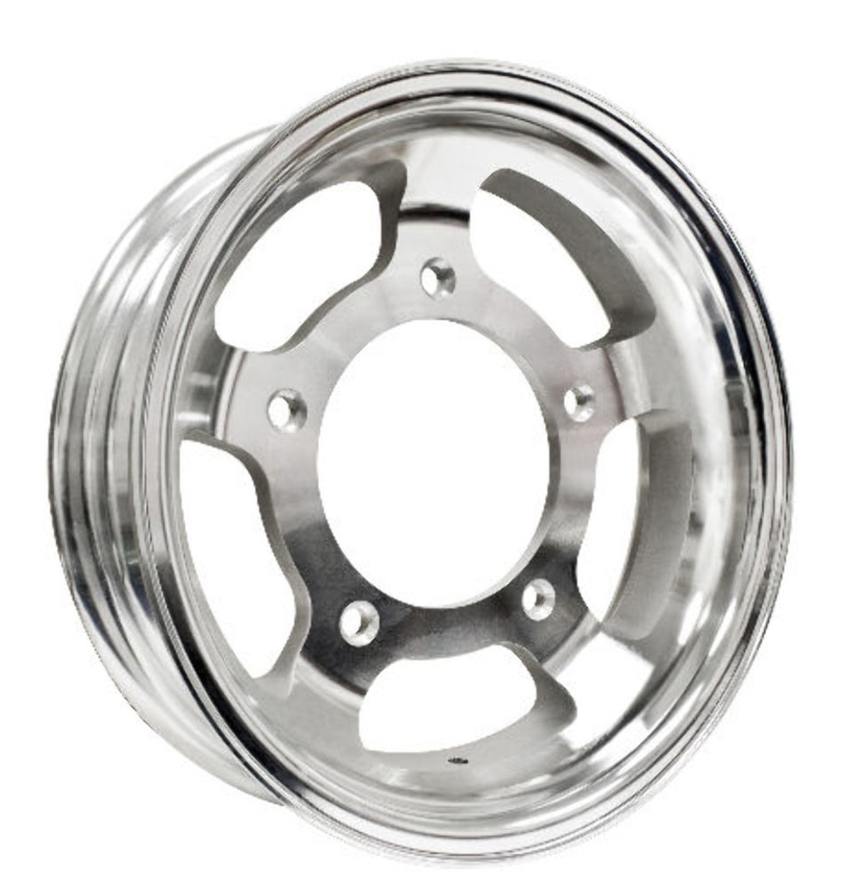 """15 X 4"""" Forged Aluminum Rim, 5 On 205mm, 1-3/4"""" Backspacing, Compatible with VW Dune Buggy"""