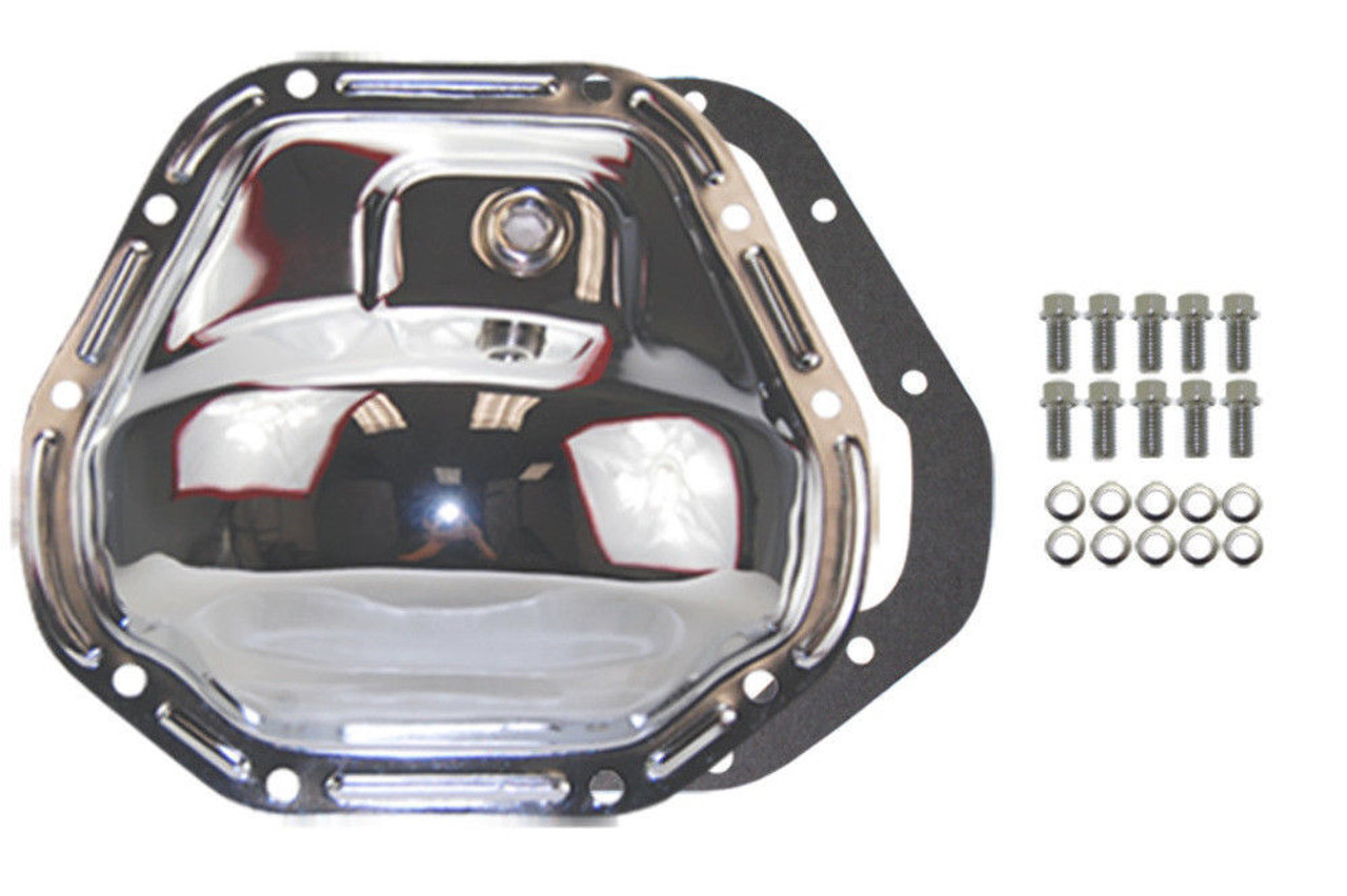1999-06 Ford Super Duty F-250 F-350 Excursion 4x4 Chrome Differential Covers Kit