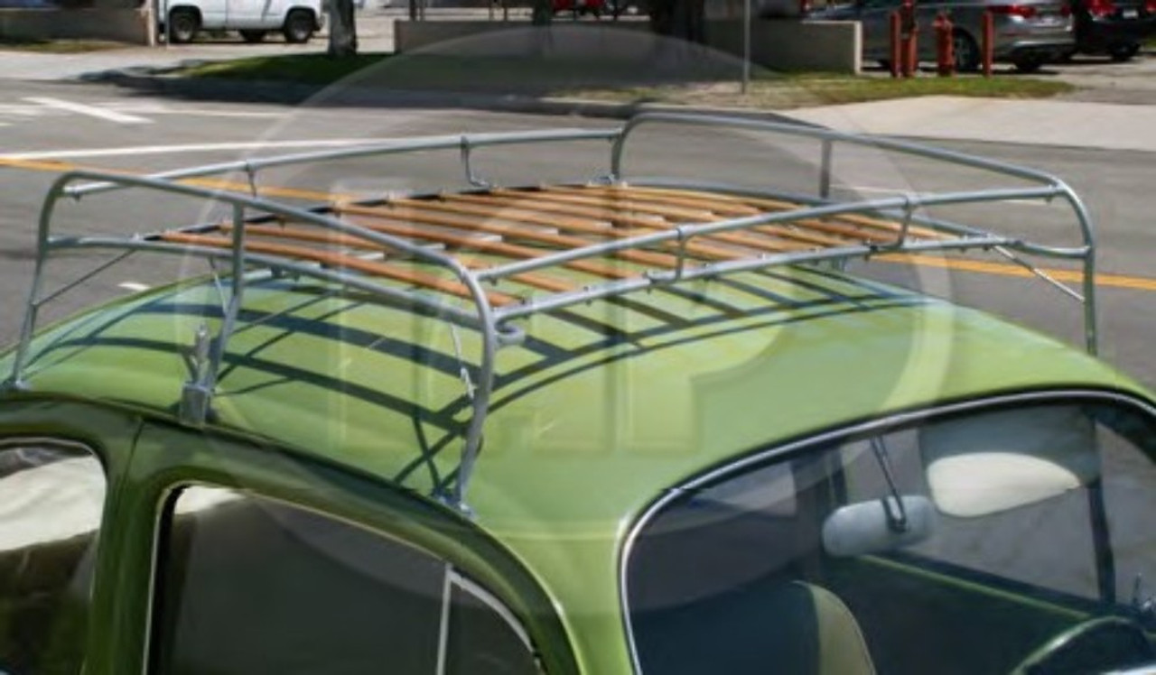 Silver Frame Roof Rack, Compatible with Type 1 Bug 1949-77, Super Beetle 1971-77