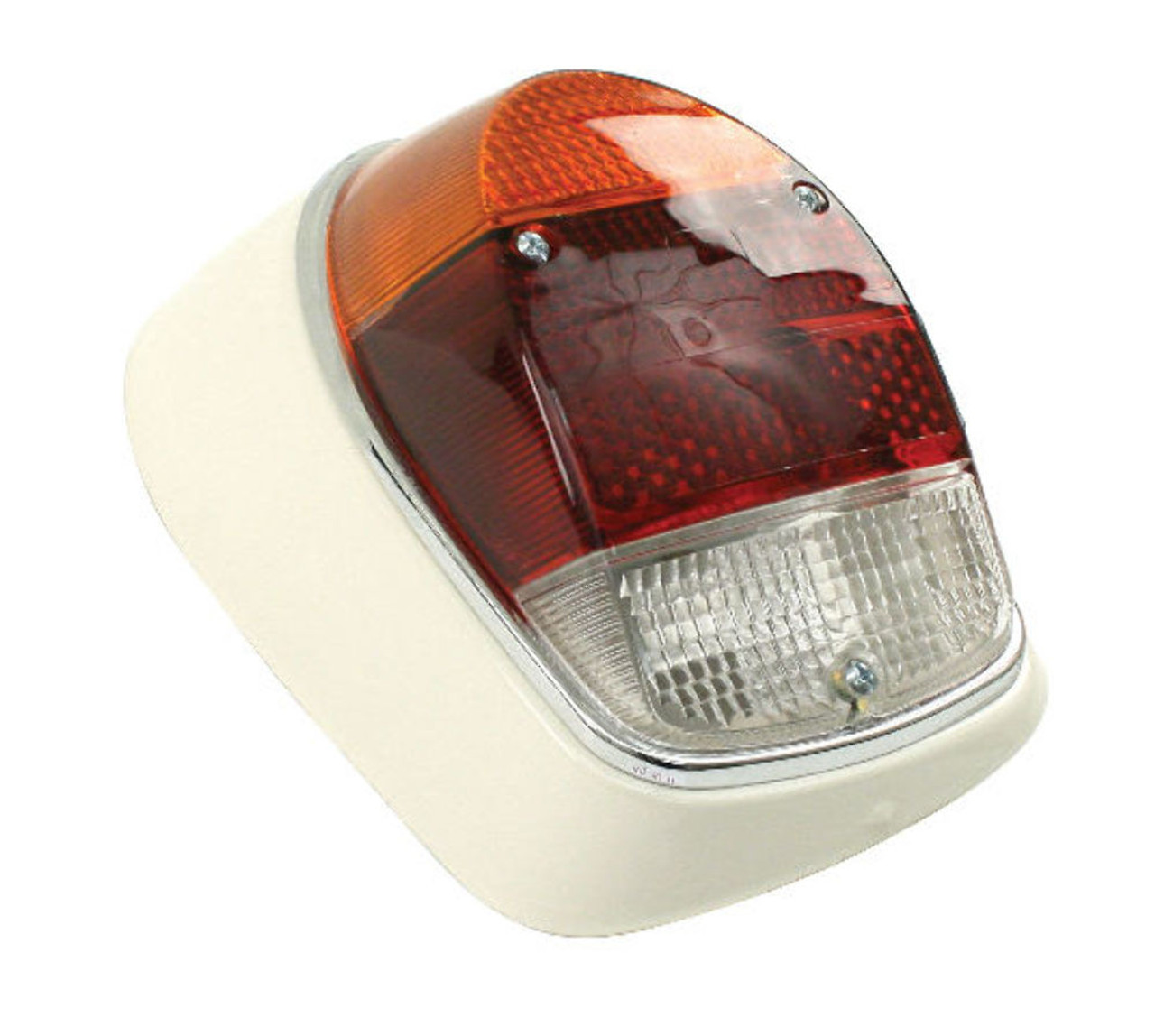 Tail Light Assembly, Right Complete, Euro Style, Fits VW Bug 68-70, EMPI 98-1092