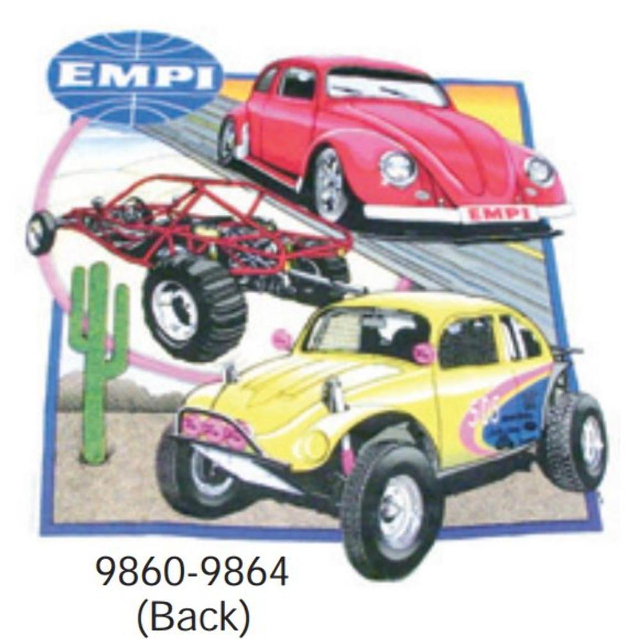 00-9863-0 EMPI T-SHIRT, XTRA LARGE