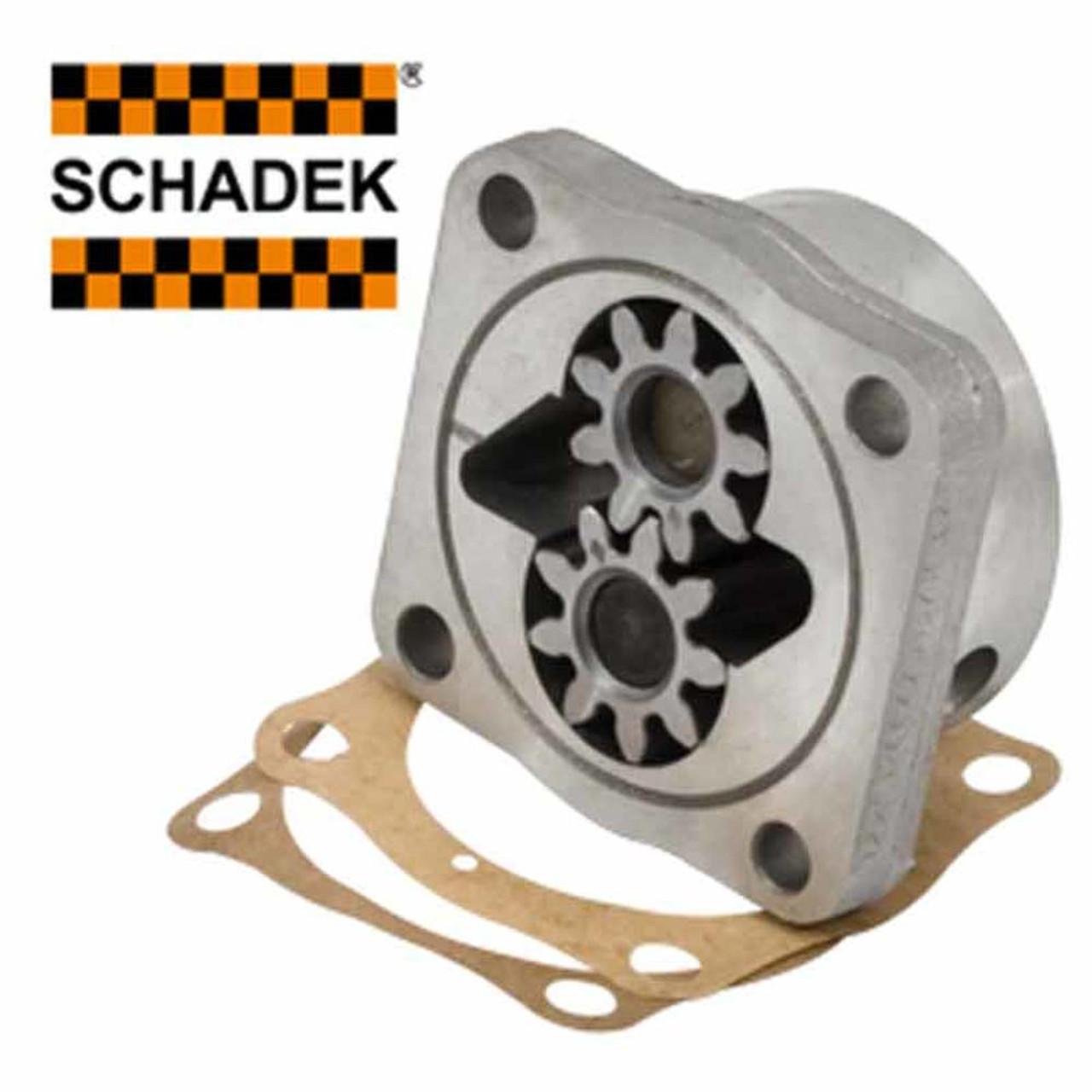 Schadek Oil Pump F/ Flat Cam, 30mm Gears VW, Bug, Beetle EMPI 98-1123-B  10-045 111 115 107AHD