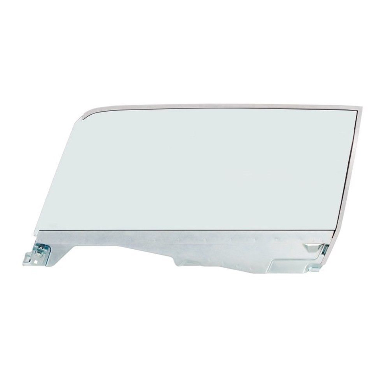 Complete Tint Door Glass Assembly For 1965-66 Ford Mustang Coupe - L/H