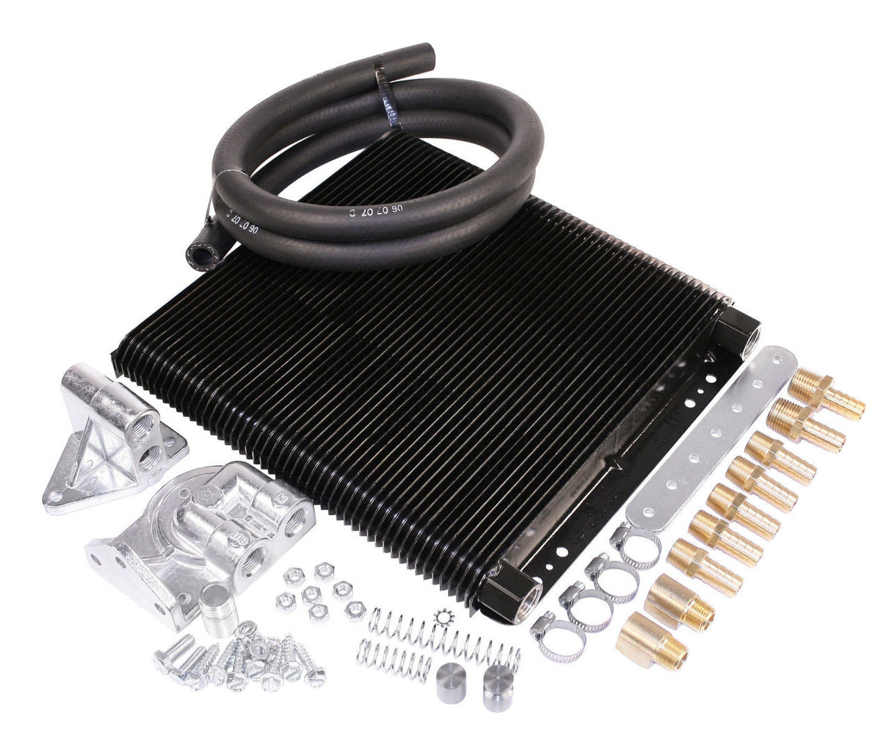 Oil Cooler Kit, 48 Plate, Competition, Fits VW Bug Type-2 Sand Rail Dune Buggy, EMPI 9270