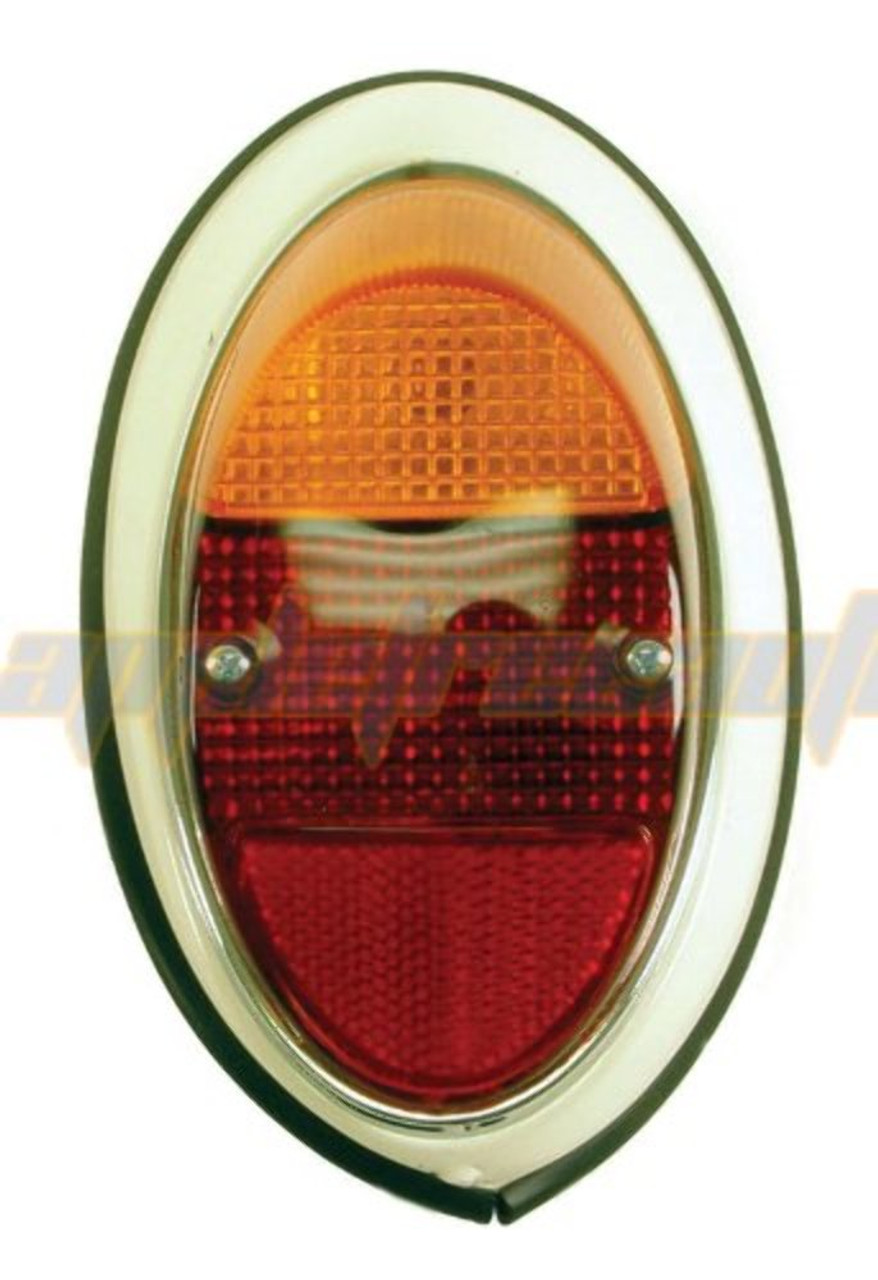 Empi 98-2024-0 Taillight Assembly 62-67 Vw Bug Right Euro Style, Ea