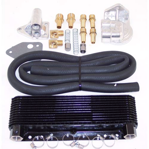 Oil Cooler Kit, 24 Plate, Competition, Fits VW Bug Type-2 Sand Rail Dune Buggy, EMPI 9272