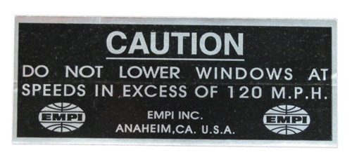 00-9802-0 DECAL, EMPI 200 MPH, (100)