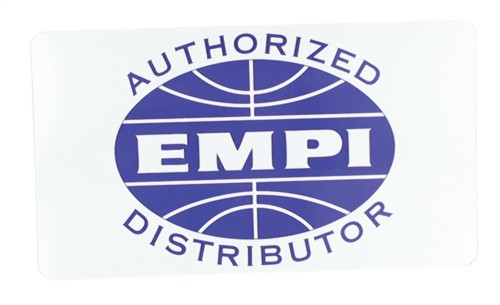 00-9819-0 AUTHORIZED EMPI DIST.DECAL