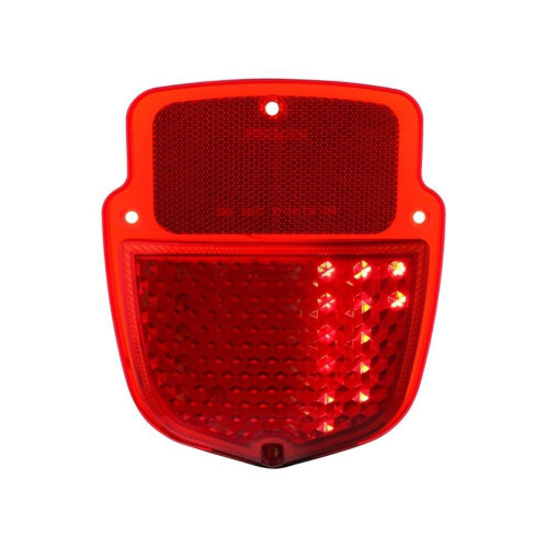 38 Red LED Sequential Tail Light - 1953-56 Ford Truck - Left Hand / Driver Side