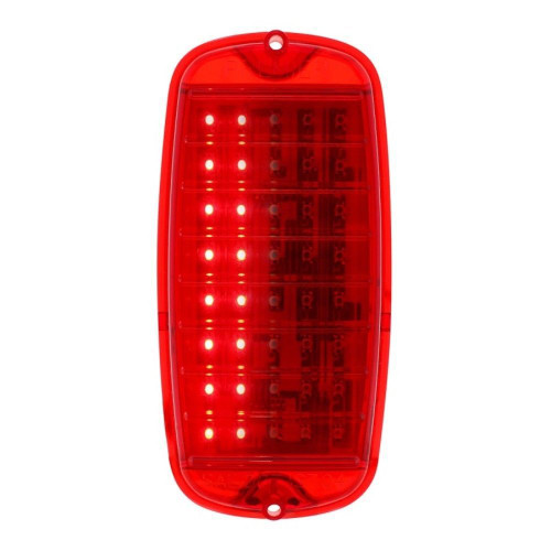 40 Red LED Sequential Tail Light For 1960-66 Chevy & GMC Fleetside Truck