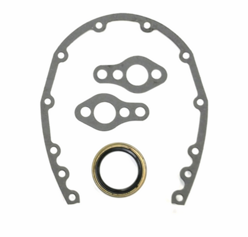 Timing Cover Gaskets & Seal, Fits Chevy Small Block SBC 283 327 350 383 Hot Rod