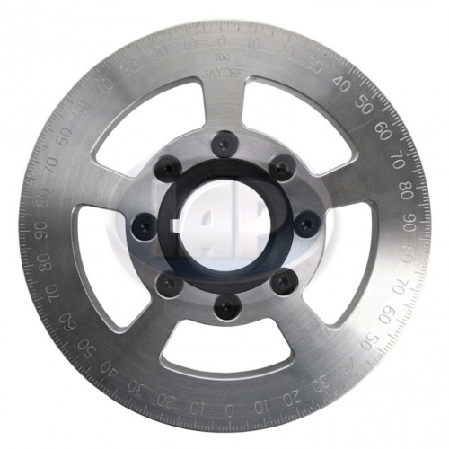 "6"" Street Power Crankshaft Power Pulley 6"", Silver For Air-Cooled VW"