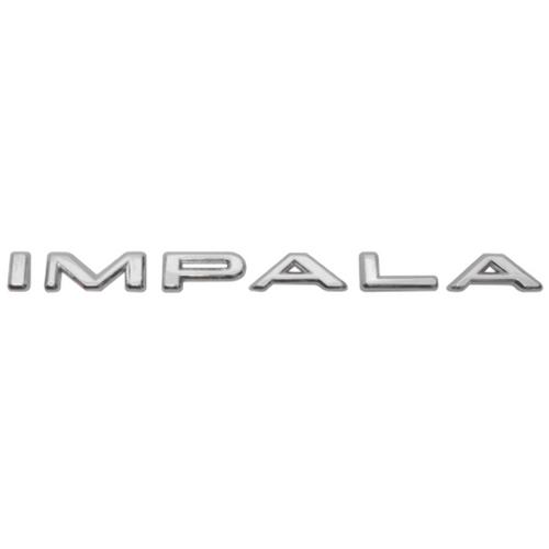 1964 Chevy Chevrolet Impala Letter Set Script Emblem Badge