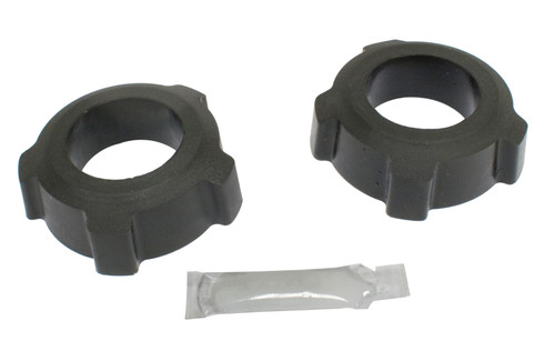 """Knobby Type Grommets, 1-7/8"""" I.D., Pair, Black, Compatible with VW Type 1 & 3"""