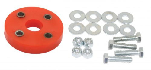 Bugpack Urethane Steering Coupler, Red, Compatible with VW Bug Buggy Sand Rail Baja Air Cooled