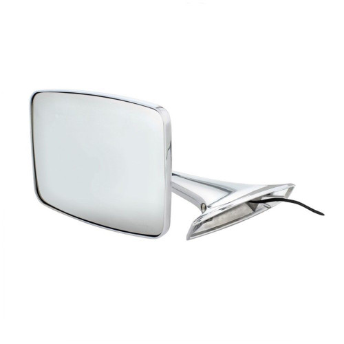 Exterior Mirror w/ LED Turn Signal, Driver Side, Fits Chevy/GMC Truck 1973-1987