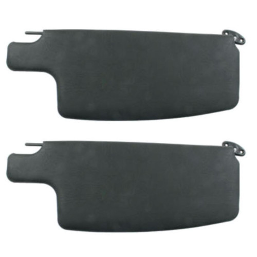 Sun Visors, Black, Compatible with VW Beetle 1965-77 & Convertible 1973-79