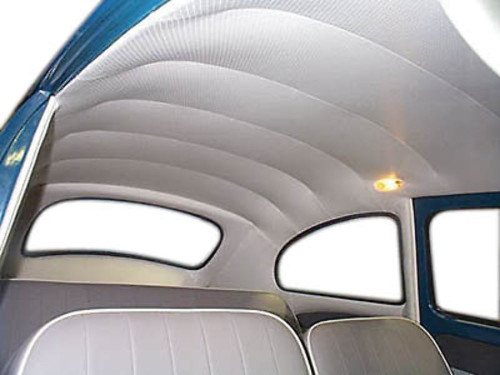 Headliner Replacement, Ivory, For VW Beetle/Bug 1958-67,EMPI 4391