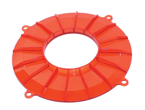 New EMPI VW Red Finned Backing Plate Cover - 8848