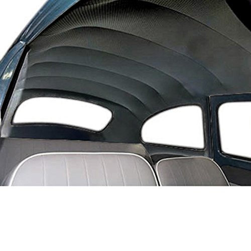 Headliner, Stock Replacement, Black, Fits VW 1968-1977 Beetle Type 1, All Years Super Beetle, 4395