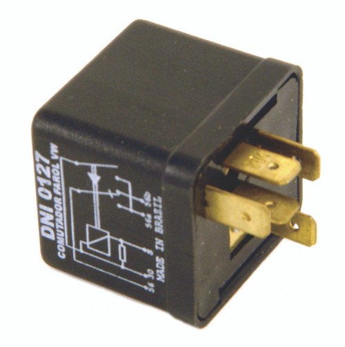 12-Volt Headlight Relay, Type-1-2 1967-1979, Ghia 1967-74, Type-3 1967-73, Each