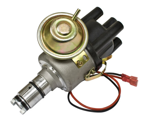 EMPI VW Air Cooled EMPI SVA Vacume- Distributor with Electronic Ignition  9437-B