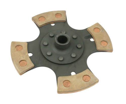 Clutch Disc, 200mm, 4-Puck Race Fits VW Bug Buggy Ghia Sand Car Sand Rail, EMPI 4091
