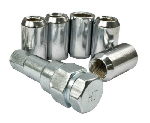 Lug Nuts, 14mm, Small O.D. For All 5X112 Wheels, Set Of 5, Fits VW Bug Porsche, EMPI 9547