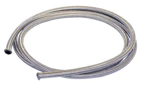 25' Length Braided Stainless Steel Oil/Breather Line 1/2 I.D, Fits VW Bug Air Cooled