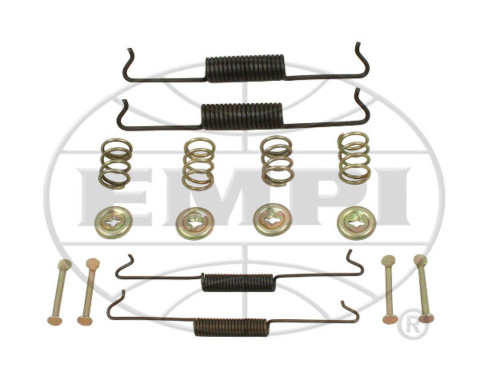 Brake Spring Hardware Kit, Front, Replacement For Air Cooled VW Bug 58-64 TYPE 1