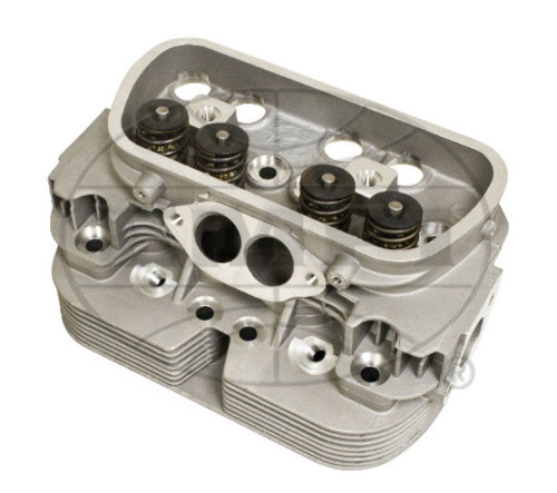 Cylinder Head, Dual Port, High Performance, 92mm Single Springs, Each, Fits VW Bug, EMPI 98-1390