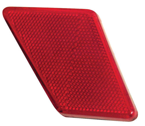 Tail Light Reflector, Rear Left, Sold Each, Fits VW Bug Type 1 1970-72, EMPI 98-9506-B