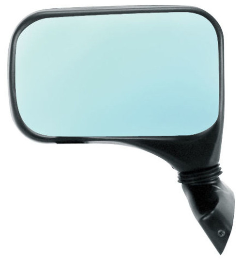 EMPI VW BUG BUGGY MINI SPRINT TURBO MIRRORS BLUE TINTED GLASS RIGHT, EACH 4592