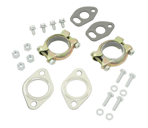 Engine Exhaust Muffler Install Kit 1200-1600cc, Fits VW Air Cooled Bug, EMPI 98-2989